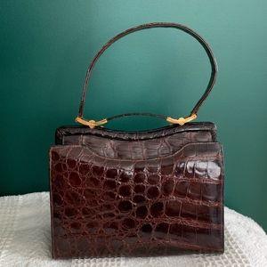 Beautiful Vintage Escort Alligator Bag
